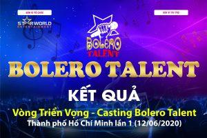Những giọng hát tiềm năng chính thức lộ diện tại Bolero Talent